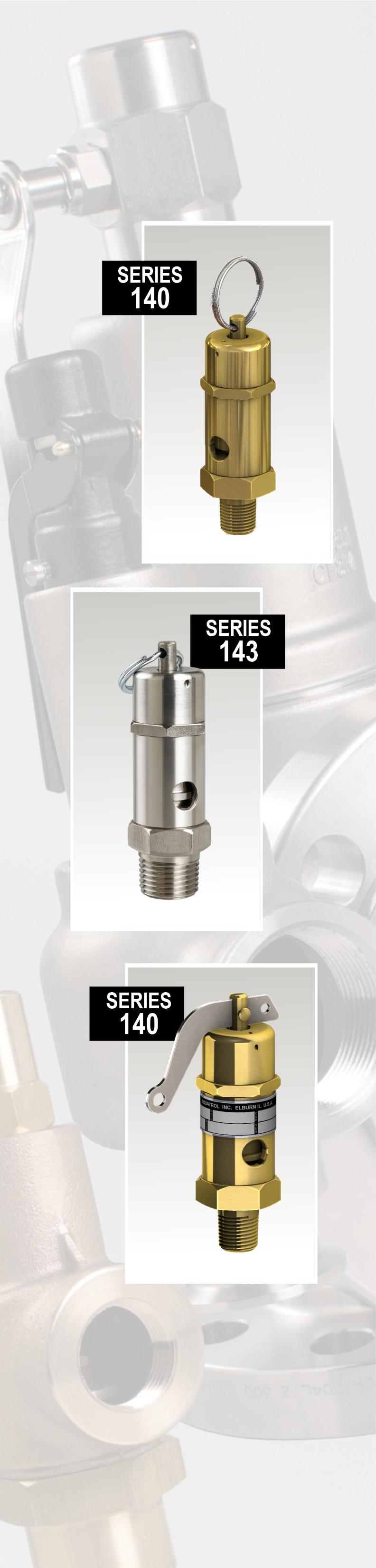 275 psi 1//2 x 1 1//2 x 1 AQUATROL 740DD-M2L-275 Series 740 Safety Relief Valve